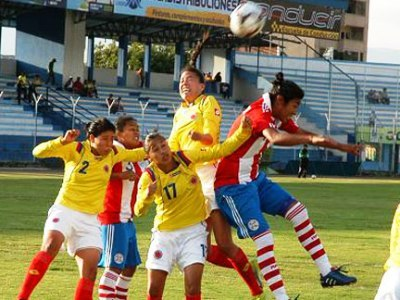Colombie - Paraguay