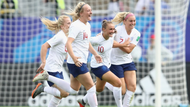 Stanway avait permis aux Anglaises de mener au score (photo FIFA.com)