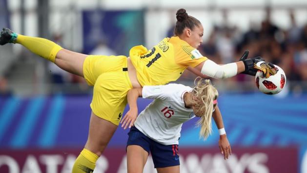 Justine Lerond aura disputé deux matchs durant le tournoi (photo : FIFA.com)