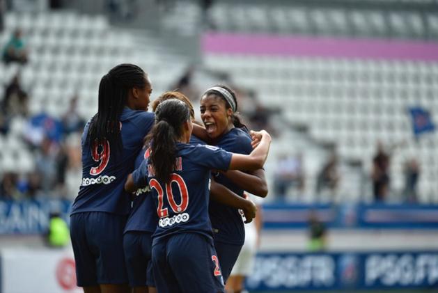 Les Parisiennes du PSG ont déroulé (photo PSG.fr)