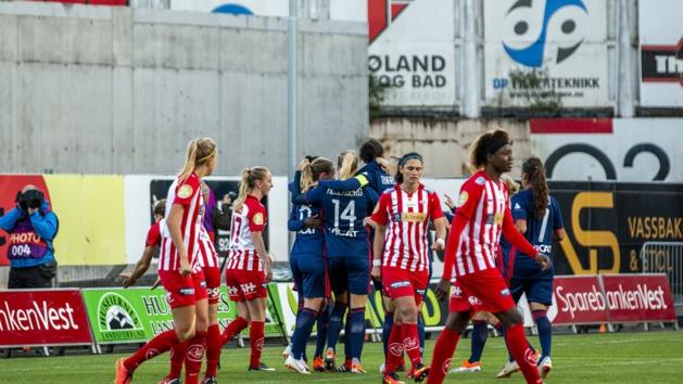 Les Lyonnaises libérées après l'ouverture du score d'Henry