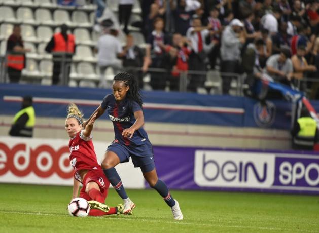 Katoto débloque la situation sur penalty (photo PSG)
