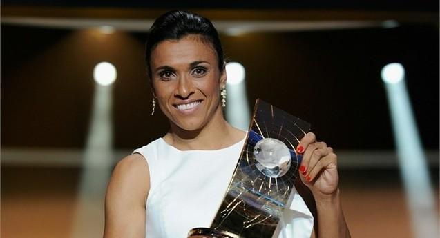 Marta élue pour la 5e fois meilleure joueuse mondiale de la FIFA
