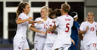 #FIFAWWC (CONCACAF) - J2 : le CANADA cartonne, les ETATS-UNIS en demi