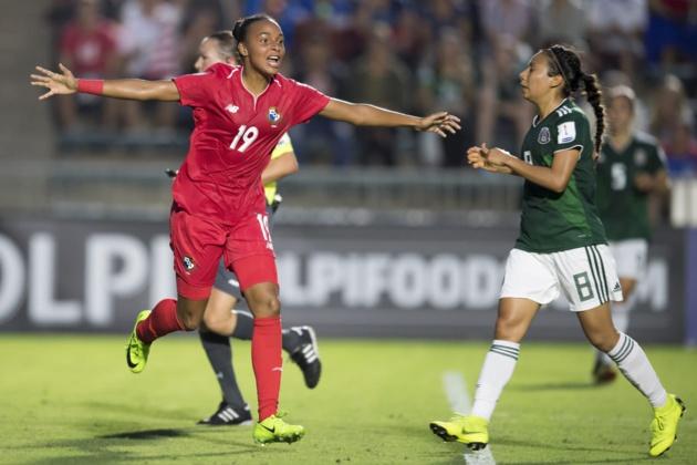 Lineth Cedeño auteur du second but panaméen (photo CONCACAF)