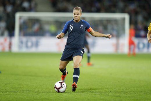 S/&K Sports Maillot Femme Kadidiatou Diani Equipe de France Domicile 2019