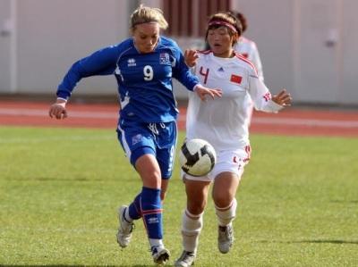 Deuxième victoire islandaise et troisième but pour Margrét Lara Vidarsdottir