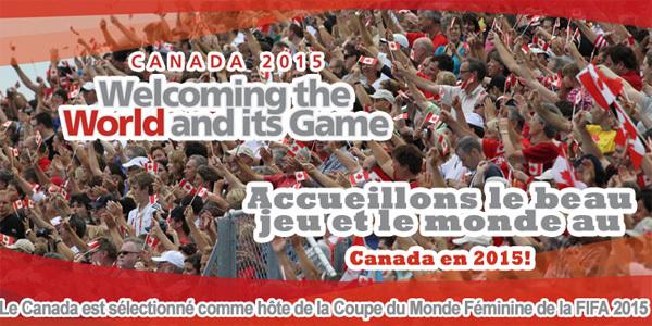 La Coupe du Monde 2015 au Canada !