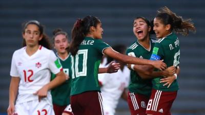 Les Mexicaines aux anges