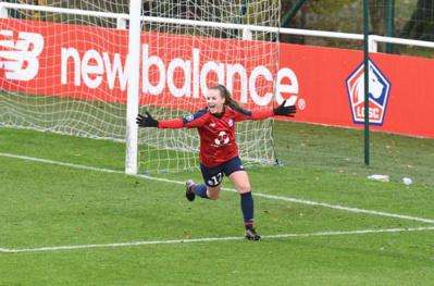 Dufour a inscrit son premier but en D1 (photo LOSC)