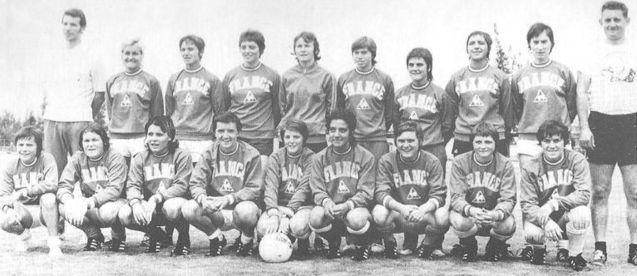 L'équipe de France en 1971