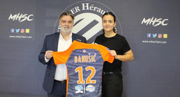 Marija Banušić => Montpellier HSC