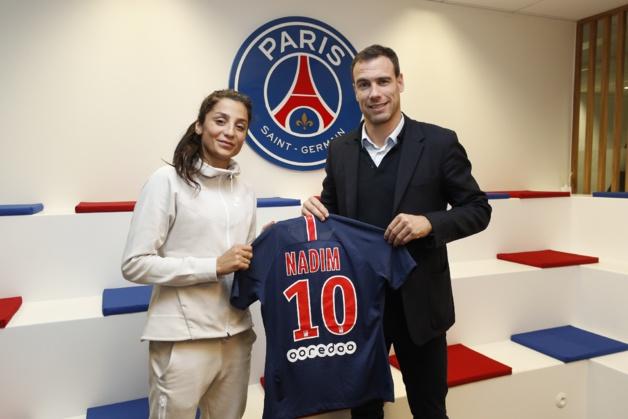 Nadia Nadim => Paris Saint-Germain