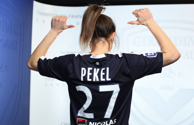 Pekel prêtée par le PSG à Bordeaux (photo FCGB)