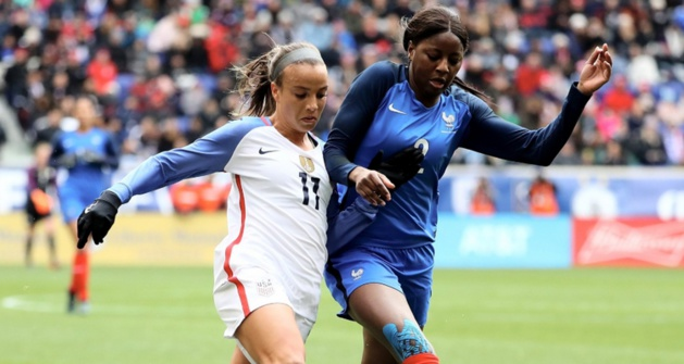 Tounkara avait joué face aux Etats-Unis lors de la SheBelieves Cup en 2017 et 2018 (photo US Soccer)
