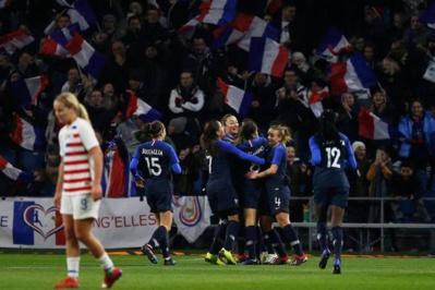 Bleues - 2019 débute par une victoire face aux championnes du Monde