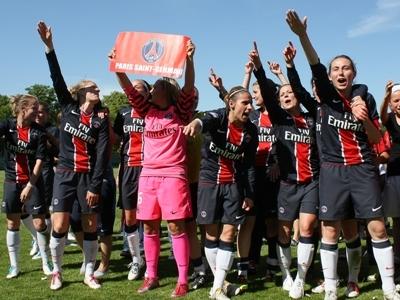 Les Parisiennes fêtent leur première qualification européenne (photo : W. Morice/Le Moustic Production)