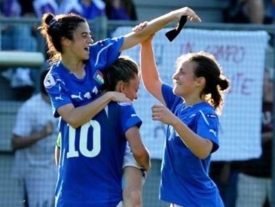 Les Italiennes ont bien débuté devant leur public (photo : FIGC)