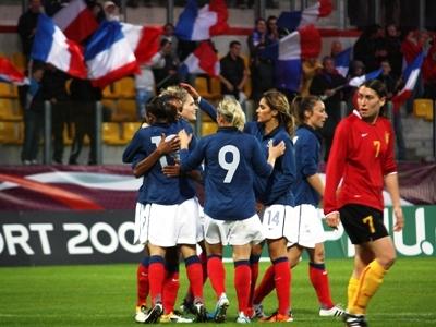 Les Bleues écrasent la Belgique pour leur dernière