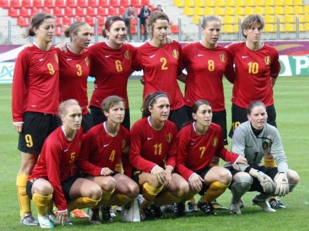 L'équipe de Belgique