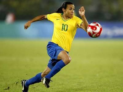 La Brésilienne Marta