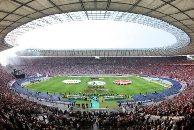Près de 70 000 spectateurs garniront les tribunes de l'Olympiastadion de Berlin