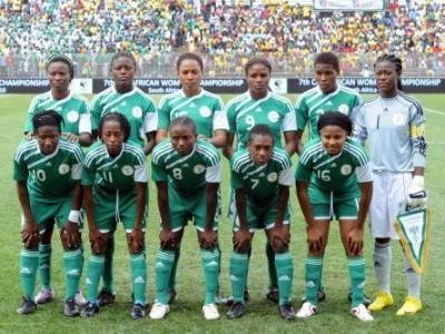 La sélection nigeriane championne d'Afrique 2010