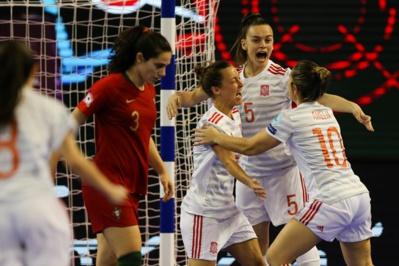 Futsal - L'ESPAGNE première championne d'Europe futsal