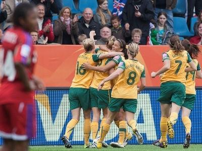La joie australienne (photo : Eric Baledent)