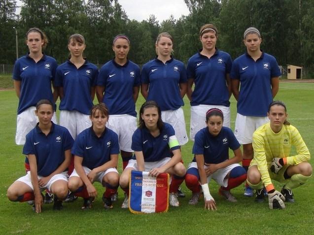 L'équipe titulaire face à la Norvège