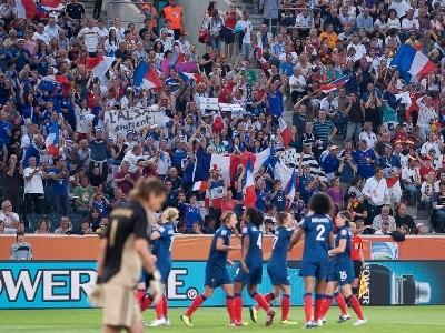 Les Tricolores ont fait douter les Allemandes (photo : Eric Baledent)