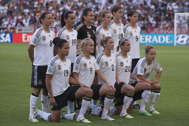 Le onze allemand (photo : Eric Baledent)