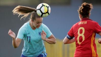 Lieke Martens et les Pays-Bas battues par l'Espagne