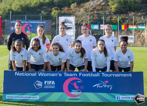 Turkish Women's Cup - La FRANCE dispose de l'IRLANDE DU NORD au finish