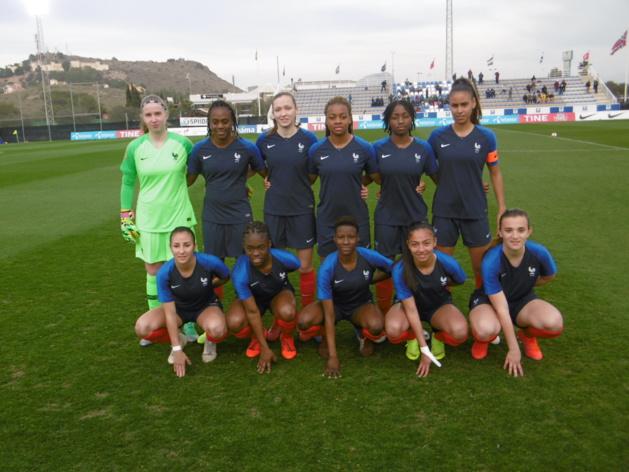 U19 - Défaite face à la NORVEGE pour les Bleuettes