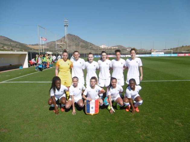 U19 - La FRANCE a bien réagi devant les ETATS-UNIS