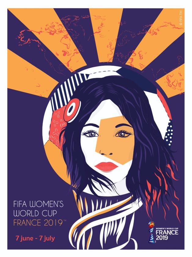 L'affiche officielle de la Coupe du monde 2019 féminine dévoilée