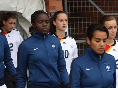 Lors de l'entrée des équipes, Griedge affichait sa concentration