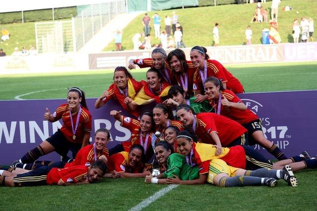 Retour en images sur la finale U17 Espagne - France