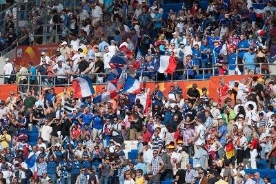 Les supporters étaient en nombre en Allemagne (photo : Eric Baledent)