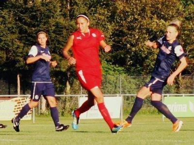 L'internationale algérienne Lilia Boumrar a inscrit son premier but sous ses nouvelles couleurs