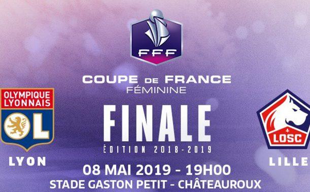 Coupe de France - La finale OL - LOSC codiffusée le 8 mai à 19h00