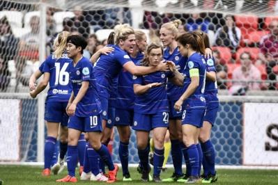 Chelsea a marqué un but précieux Ã* l'extérieur (photo UEFA)