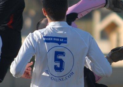 Le FC Crolles, l'un des quatre clubs sponsorisés par JOA dans la région Rhône-Alpes...