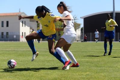 Lakrar aura contribué au succès français (photo Hélène Dos Santos/Sud Ladies Cup)