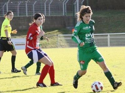 Astrid Chazal à droite (photo MP Guillet)