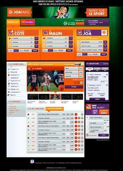 JOAONLINE lance sa nouvelle plateforme de Paris Sportifs