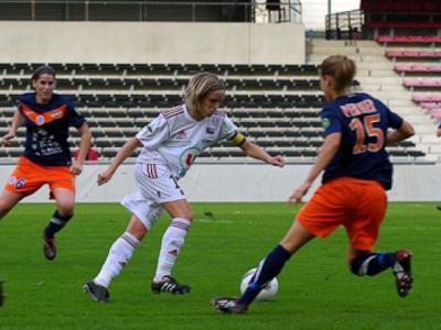 Montpellier s'impose devant Guingamp et Julie Morel (photo club)