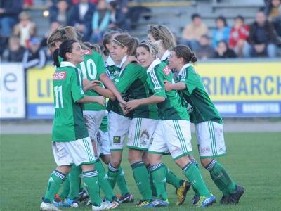 La néo internationale Camille Catala a inscrit le seul but du match (photo LP)