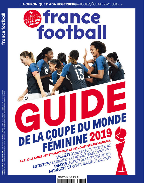 Coupe du Monde - FRANCE FOOTBALL sort un guide spécial